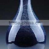 Chinese antique porcelain flame vase-blue sky LW695