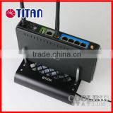 Wifi router server set top box aluminum mobile stand holder