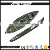 No inflatable fishing pedal ocean kayak made in China cheap plastic wholesale canoe                                                                         Quality Choice