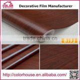Wholesale self adhesive Wood Texture pvc decorative furniture foil