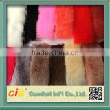 fox fur /rabbit fur/faux fur fabric for coat/garment