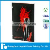 offset printing softcover perfect binding catalogue printing service
