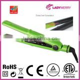 "1"" Keratin Ionic professional hair straightener for black hair Direct Factory CE ROHS CB CTUVUS"