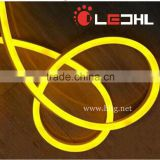 Yellow Color AC170-250V/AC220V Flexible LED Neon Strip Light with SMD 2835 120 LEDs per meter