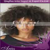 "12"" Short Black Rhapsody Curly wave SYNTHETIC Women Afro Lace front Wig Hair"
