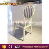 french stacking banquet chairs wedding party dining chairs white frame dining chairs                                                                         Quality Choice