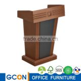 Wood Lectern, conference lectern podium