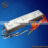Electronic ballast for T8 fluorescent lamps