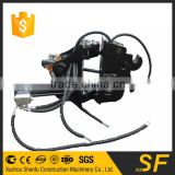 Backhoe excavator parts of excavator tilt quick hitch