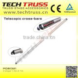 PDB1321/Pipe and drape/ Telscopic post / curtain tube, decoration pipe and drape for trade show displays