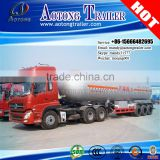 Factory manufacturing 58.3cbm LPG tank trailer,liquid propane gas tanker storage trailer for sale