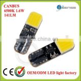 Guangzhou car accessories auto parts car led light T10 W5W 501 168 194 COB plasma LED lamp bulbs light