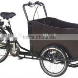 Hot sale! three wheel bicycle/adult pedal tricycle/cargo bicycle with high quality for shopping/