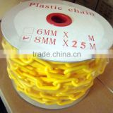 Cheaper price factory sales worksite safety plastic barrier chain