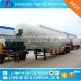 bulk cement trailer for sale / granular powder material tanker truck trailer semi trailer