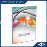 LED optical lens fabric light box sign frame