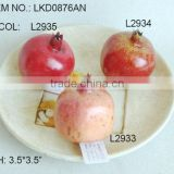 High quality New Artificial Fake Fruits Artificial Polyfoam Pomegranate for display House Decoration