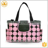 China supplier cheap waterproof polyester mummy travel diaper baby kit bag