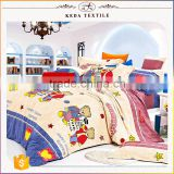 Alibaba wholesale price design your own brand 100% cotton kids duvet cover set
