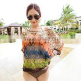 Sexy handmade Swimwear Crochet Beach Swimsuit Cover Up Knitted Bikini