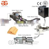 15 Moulds Small Scale Electric Automatic Wafer Biscuit Making Machine Production Line Prices