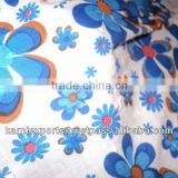 FLORAL PRINT COTTON FABRICS BLUE TERQUISE FL jaipur terquise screen prints spring summer prints fabrics for garments skirtspareo