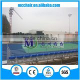 MC-TGR01 sports event provisional bleacher race seating playground bleachers aluminum scaffolding for sale chairs