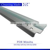 copier spare part drum cleaning blade compatible for Minolta di152 di162 di183 di210 di1611 di2011 photocopy machine