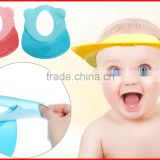 100% eco-friendly silicone softtexile swim shower cap for baby