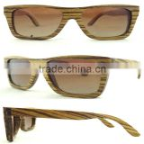 TAC polarized Lenses Fashion Wooden Sunglasses