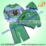 2014 new product 100%cotton knitwear baby clothing set