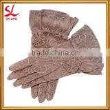 Women's Summer Gloves Lace Short Driving Sunscreen Gloves Wedding Party