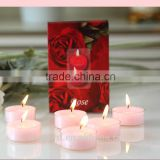 China paraffin wax tearless tea light candles bulk