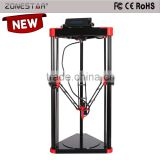 Newest Upgrade Delta Large Printing Size Metal 3d printer Kossel 3d Printer DIY Kit ZONESTAR