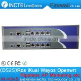 1U BAS Firewall Which Supports Dual Power Supply Dual Fan Industrial Network Appliance Hardware Router CNC