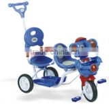 twins tricycle for children