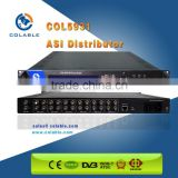 Broadcast System DVB TS ASI Distributor Factory