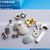 N50 Large Ring Sintered Ndfeb Magnets For Permanent DC Motor For Treadmills