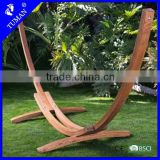 Jungle Rocking Arc Wood Hammock Chair Stand
