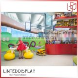 floor kids toy shop display stand toy puzzle display stand