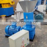 CE certification wheat bran pellets machine/pellet mill for burning stove