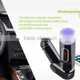 Handfree LED Display Wireless Bluetooth Car Kit FM Transmitter MP3 Player USB Charger For Samsung Iphone 6 Smartphone