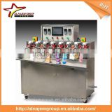 Ice-lolly stick juice spout bags filling sealing machine fully automatic stand up bag filler and sealer equipment food drinking