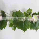 SJZJN 2573 new item hot sale hanging artificial flower bush vine for wedding wall decorations