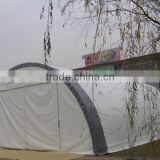 Fabric - membrane Building , Industrial HD warehouse tent , storage shelter