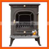 Classic cast iron wood stove