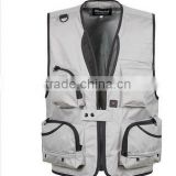 Fishing Vest Outdoor Hiking Photography Canvas Vest Waistcoat Of Photographer made in China