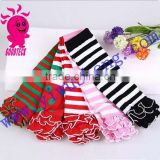 Wholesale New Arrival Cotton Stripe Leg Warmer Baby Leggings Chevron Leg Warmers Girls Electric Leg Warmer