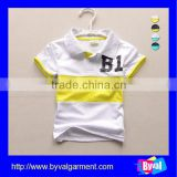 Striped Wholesale Custom Kids Polo Shirts custom Pique Polo Shirt For kids