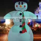 Advertisement Snowman Inflatable Christmas